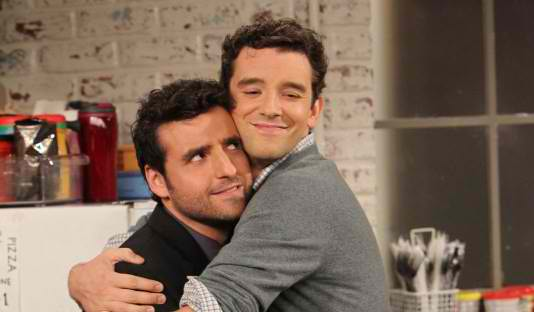Partners, starring David Krumholtz (left) and Michael Urie (right)
