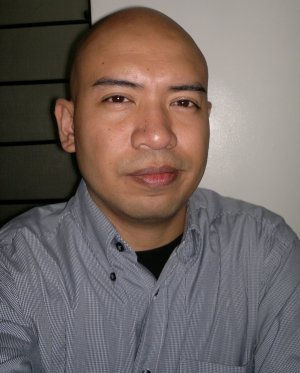 Joseph Nacino, editor of Diaspora Ad Astra and Demons of the New Year