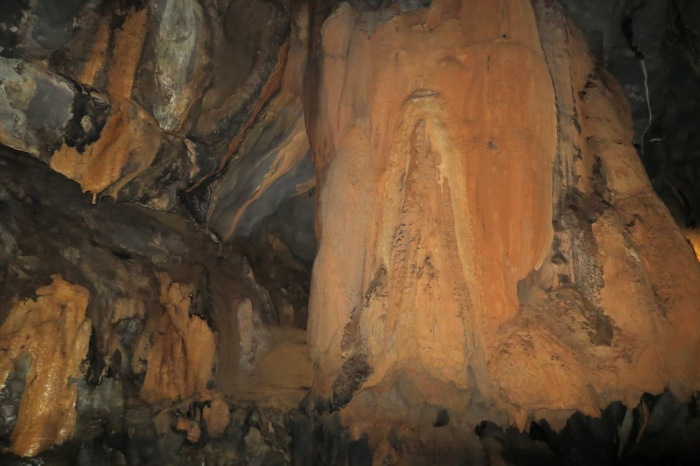 Rock formations inside the Underground River Photo by Raydon L. Reyes